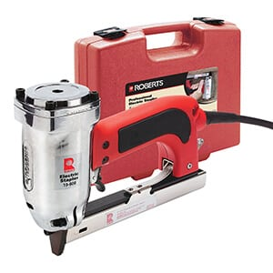 Roberts Model 10-600 – Best Electric Staple Gun for Tight Places Review