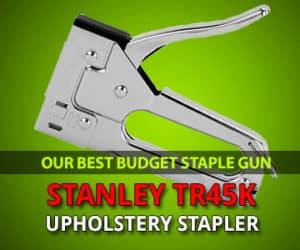 Best budbet stapler for upholsery review