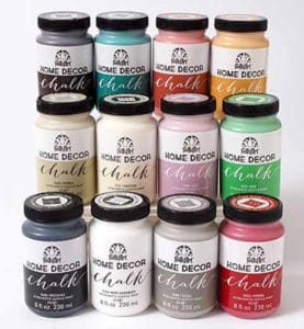 FolkArt chalk paint set review