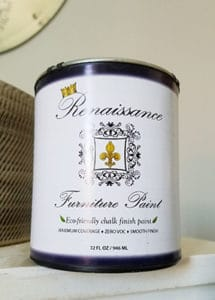 Renaissance chalk paint review