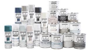 Rust-Oleum chalked paint review