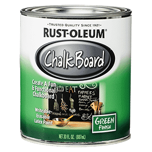 Rust-Oleum 206540 – Best Scratch-Resistant Chalkboard Paint Review