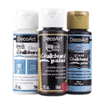 DecoArt Americana Gloss Enamels Chalkboard Carded Paint review