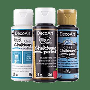 DecoArt Americana Gloss Enamels Chalkboard Carded Paint