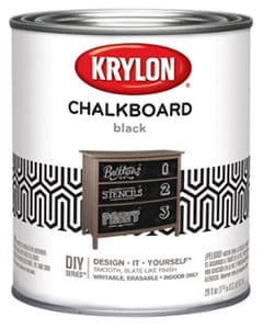 Krylon K05223000 Chalkboard Paint review