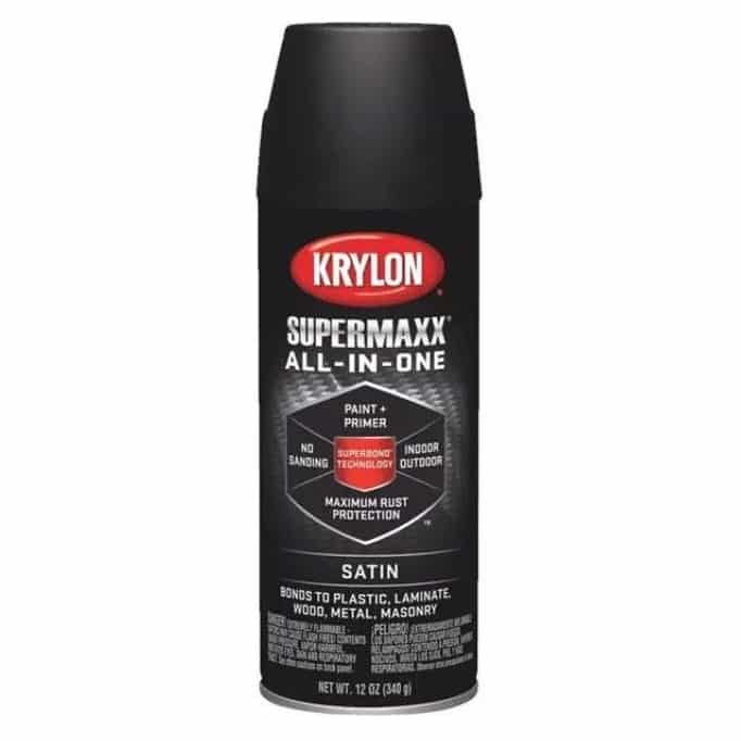 Krylon SUPERMAXX – Best Professional Paint for Plastic Review