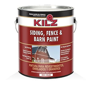 KILZ Exterior Siding, Fence, and Barn Paint – Best Protective Fence and Barn Paint Review