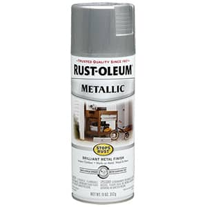 Rust-Oleum Stops Rust Metallic Spray Paint  Review