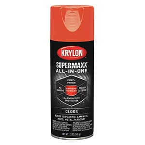 Krylon SUPERMAXX Spray Paint  Review