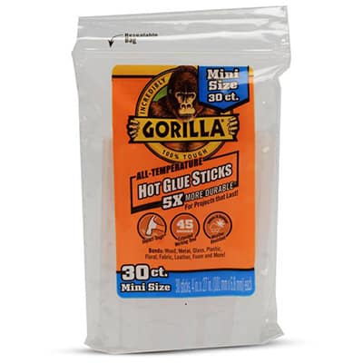Gorilla Hot Glue Stick Pack - Best All-Around Hot Glue Stick Review